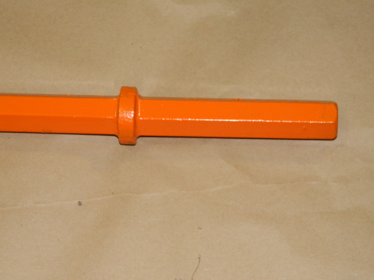"""Jackhammer Hex Drive Steel 1 1/8'' x 6"""" up to 5' Length"""