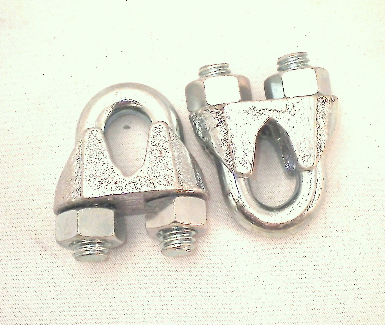 Cable Clips for 3/8'' Wire Rope & Cable - PACKAGE OF 4