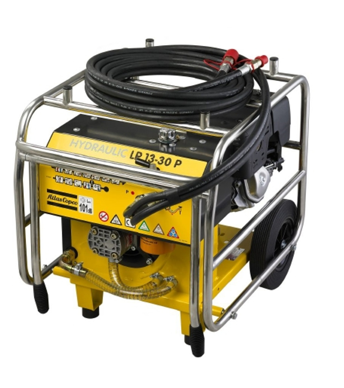 LP 13-30 P: Petrol-driven power pack, 30 lpm (8 gpm) including 7 m (23 ft) extension twin-hose.