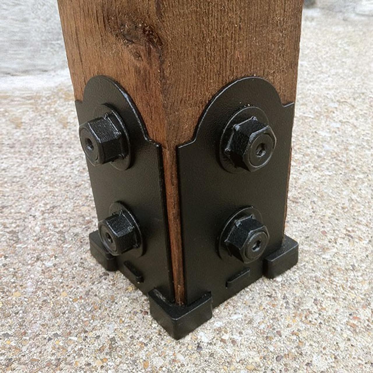 4x4 Post Anchor Designer Base Kit