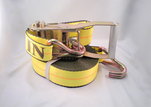 2'' x 35' Wide Handle Ratchet Strap - USA