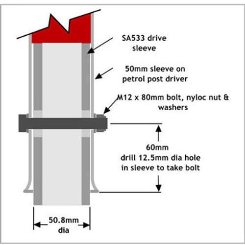 SA533 - Drive Sleeve