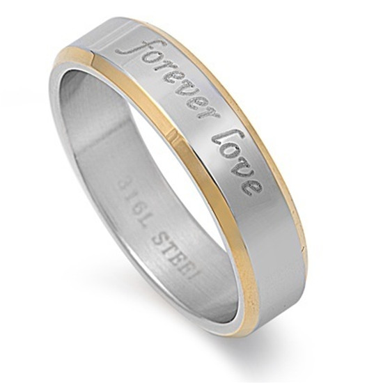 Forever love Stainless Steel Ring
