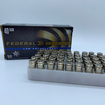Federal - 40 S&W HST Jacketed Hollow Point - 180 Grains - 50 Rounds