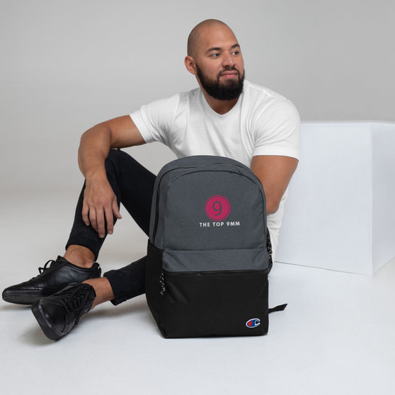 T9MM Embroidered Champion Backpack
