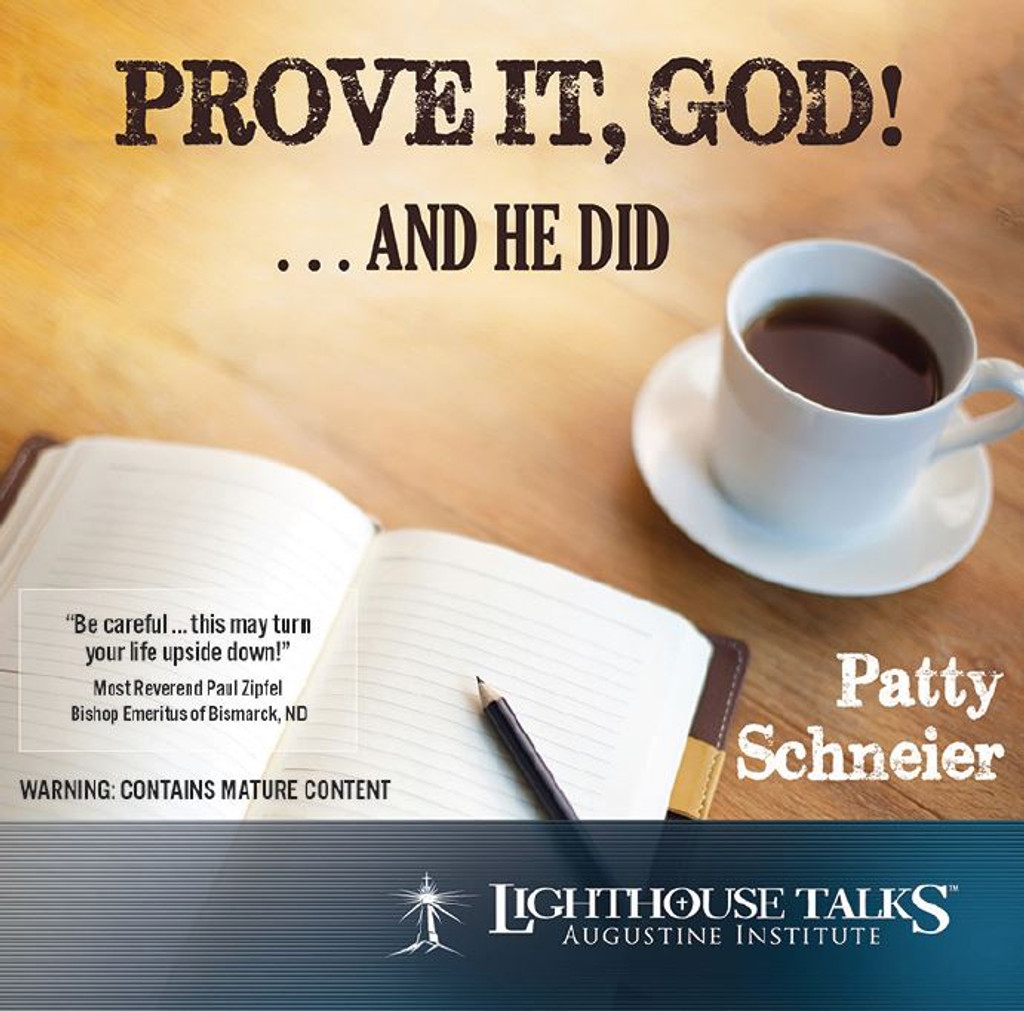 Prove it God...and He did!