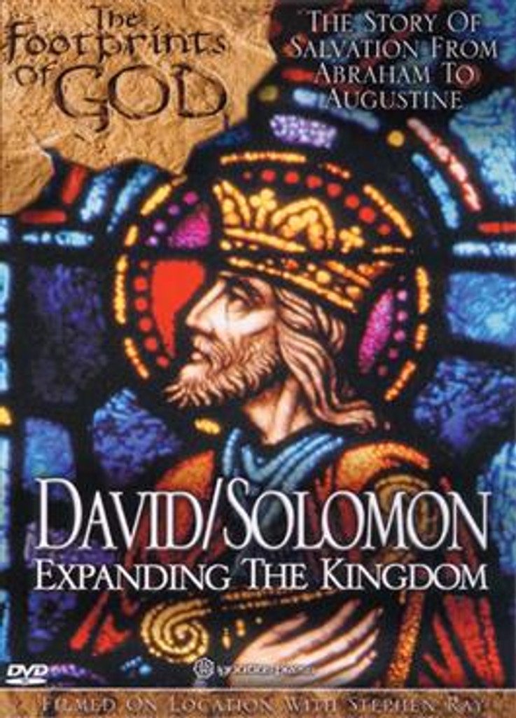 *PRE-ORDER - NEW STOCK AVAILABLE JUNE 2021* David/Solomon: Expanding the Kingdom (The Footprints of God Series)
