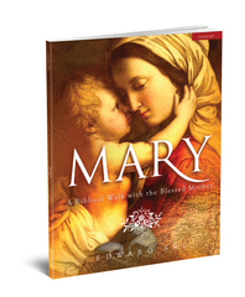 Mary: A Biblical Walk with the Blessed Mother - Dr Edward Sri - Ascension Press (Study Set)