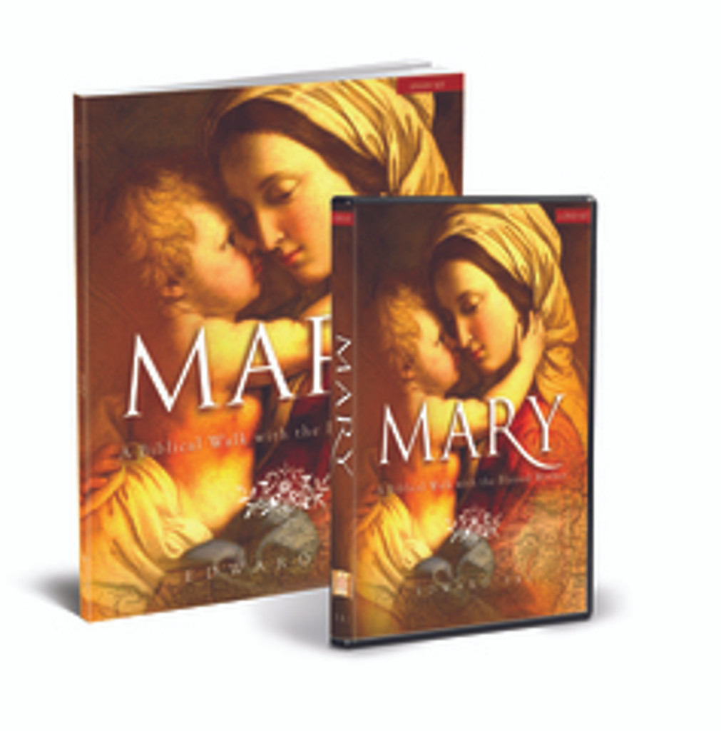 *** 20% OFF ***  Mary: A Biblical Walk with the Blessed Mother - Dr Edward Sri - Ascension Press (Starter Pack)