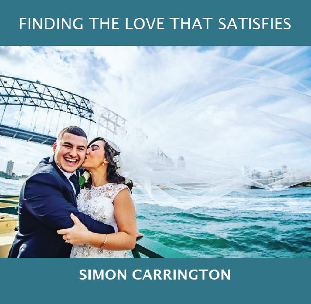 Finding the Love That Satisfies - Simon Carrington - Fire Up Ministries (CD)