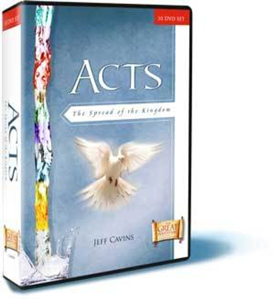 Acts: The Spread of the Kingdom - Jeff Cavins - Ascension Press (DVD Set)