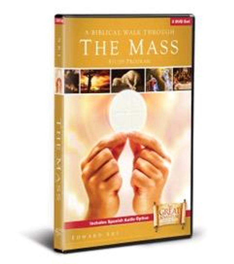 A Biblical Walk Through the Mass - Dr Edward Sri - Ascension Press (DVD Set)