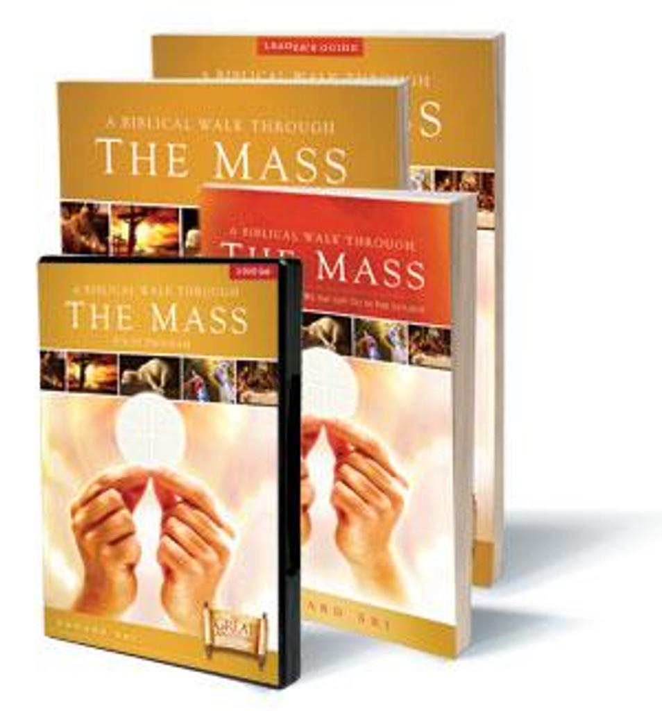 **Half Price** A Biblical Walk Through the Mass - Dr Edward Sri - Ascension Press - ORIGINAL EDITION (Starter Pack)