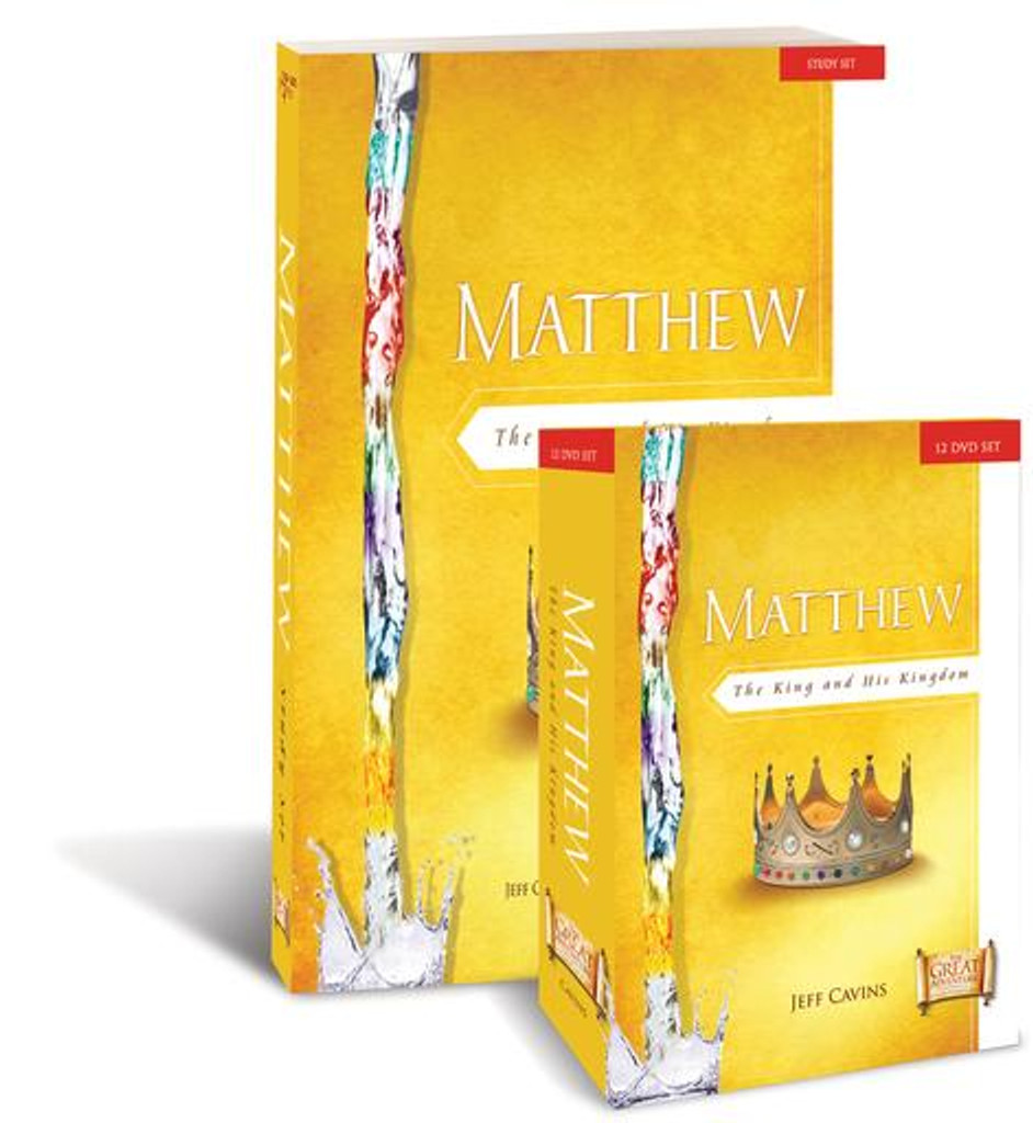 Matthew: The King and His Kingdom - Jeff Cavins & Sarah Christmyer - Ascension Press (Starter Pack)