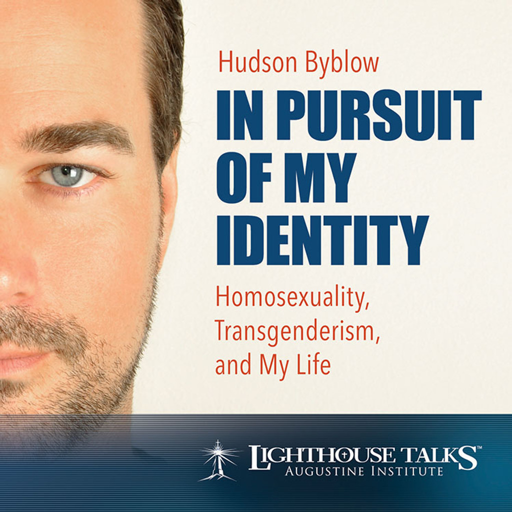 In Pursuit of My Identity: Homosexuality, Transgenderism and My Life - Hudson Byblow - Lighthouse Talks (CD)