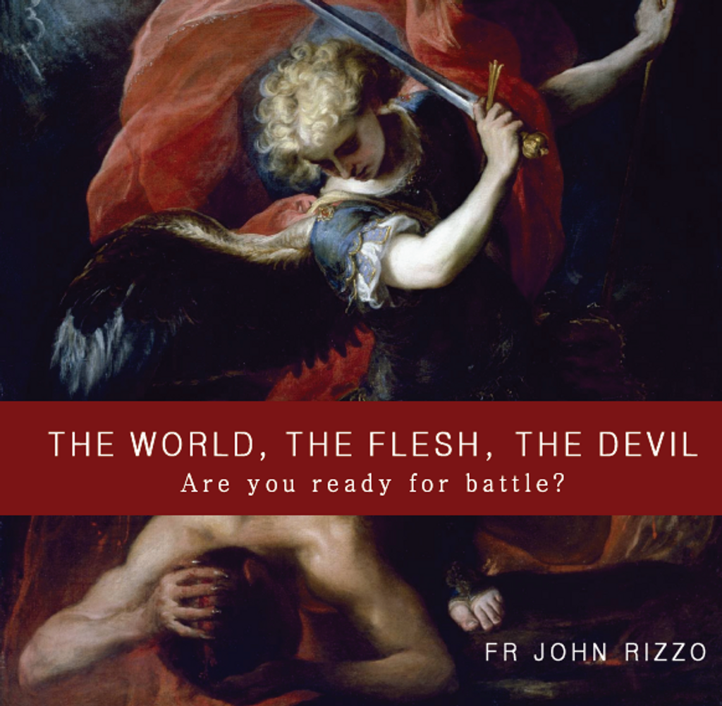 The World, The Flesh, The Devil: Are You Ready For Battle? - Fr John Rizzo - Guardians (CD)