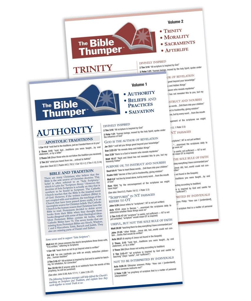 The Bible Thumper: Volumes 1 & 2 - Matthew Pinto, Brian Butler, Jim Burnham - Ascension Press