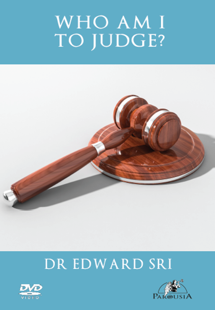 Who Am I to Judge? - Dr Edward Sri (DVD)