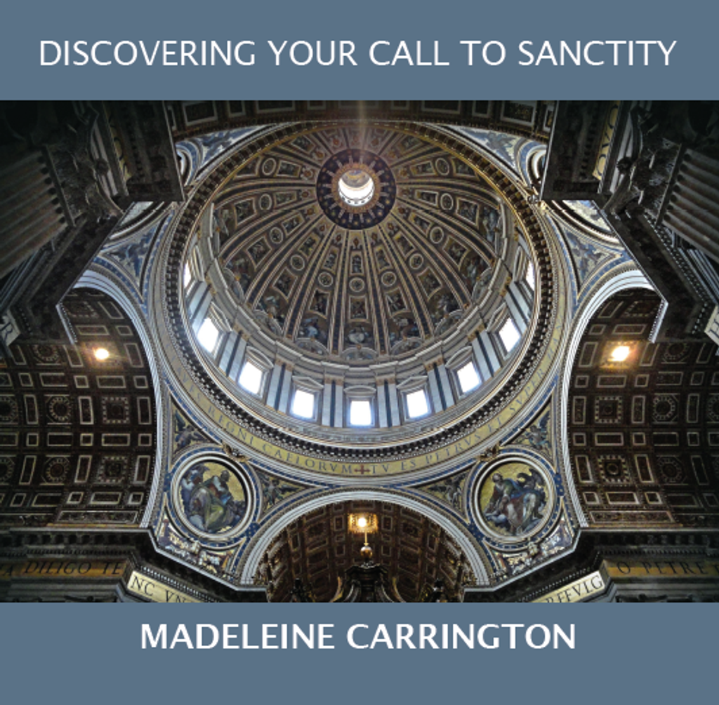 Discovering Your Call to Sanctity - Madeleine Carrington - Fire Up Ministries (CD)
