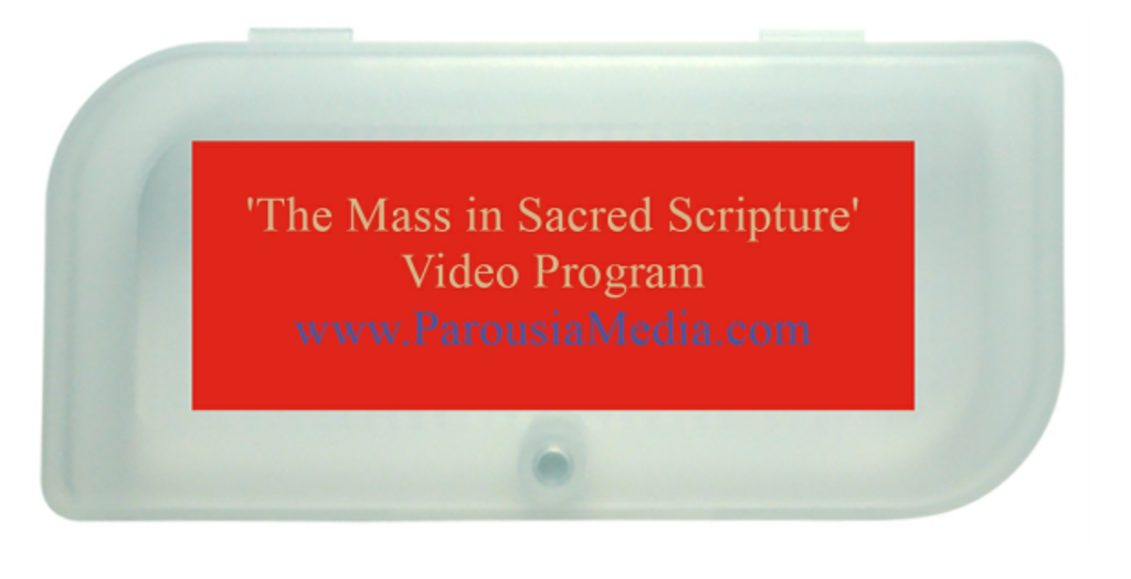 The Mass in Sacred Scripture Video Program - Deacon Harold Burke-Sivers (USB Pack)