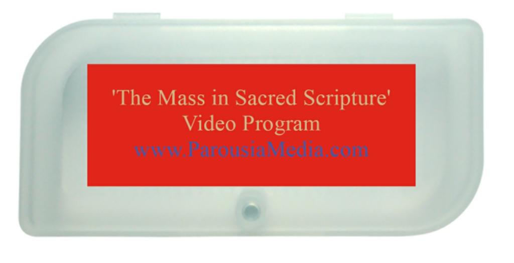 The Mass in Sacred Scripture Video Program - Deacon Harold Burke-Sivers (USB Pack)