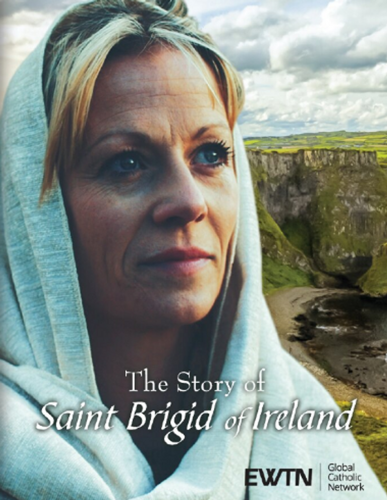The Story of Saint Brigid of Ireland - EWTN Original Documentary (DVD)