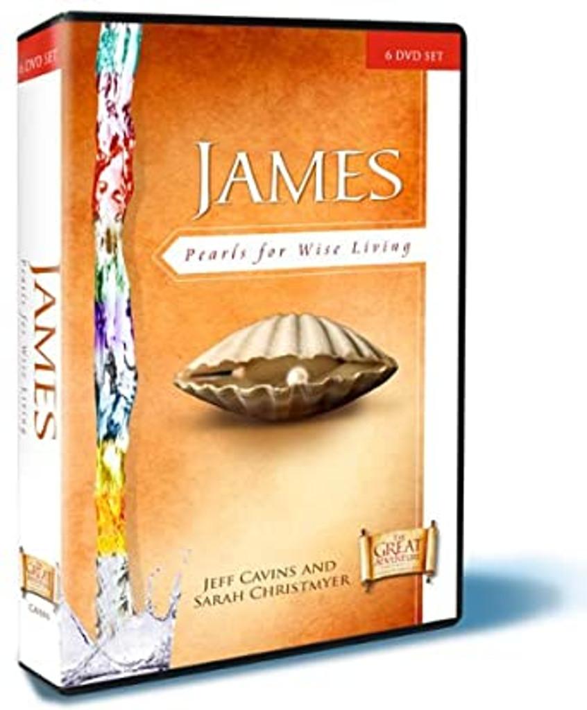 James: Pearls for Wise Living - Jeff Cavins & Sarah Christmyer - Ascension Press (DVD Set)