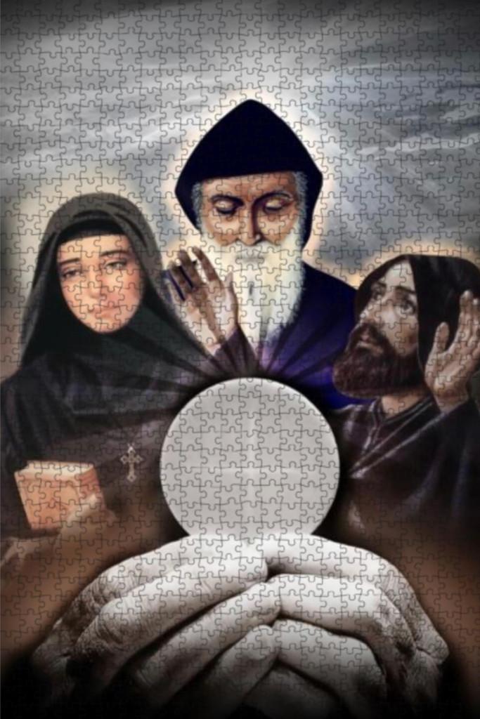 Saints & Eucharist - 1000 Piece Puzzle