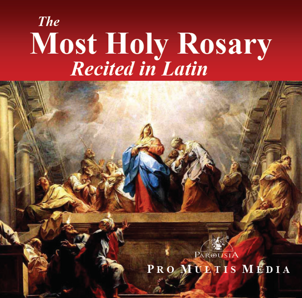 The Most Holy Rosary Recited in Latin - Pro Multis Media (CD)