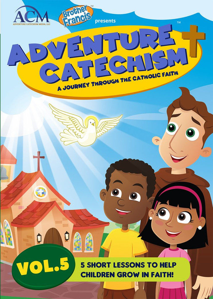 Adventure Catechism: A Journey Through the Catholic Faith - Volume 5 (DVD)