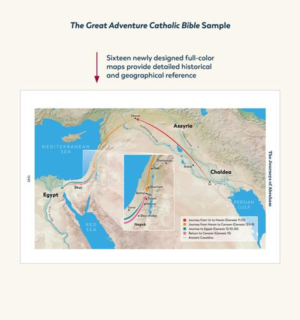 The Great Adventure Catholic Bible - Jeff Cavins - Ascension (Paperback Edition)