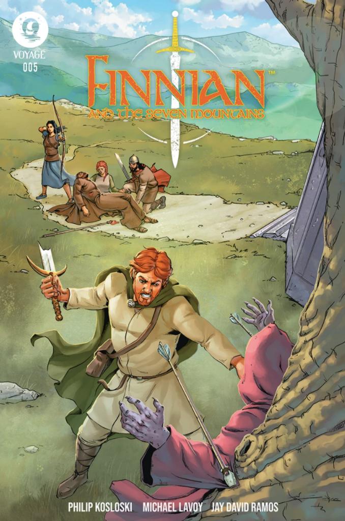 Finnian & The Seven Mountains #5- Kosloski/LaVoy/Ramos - Voyage Comics (Paperback)