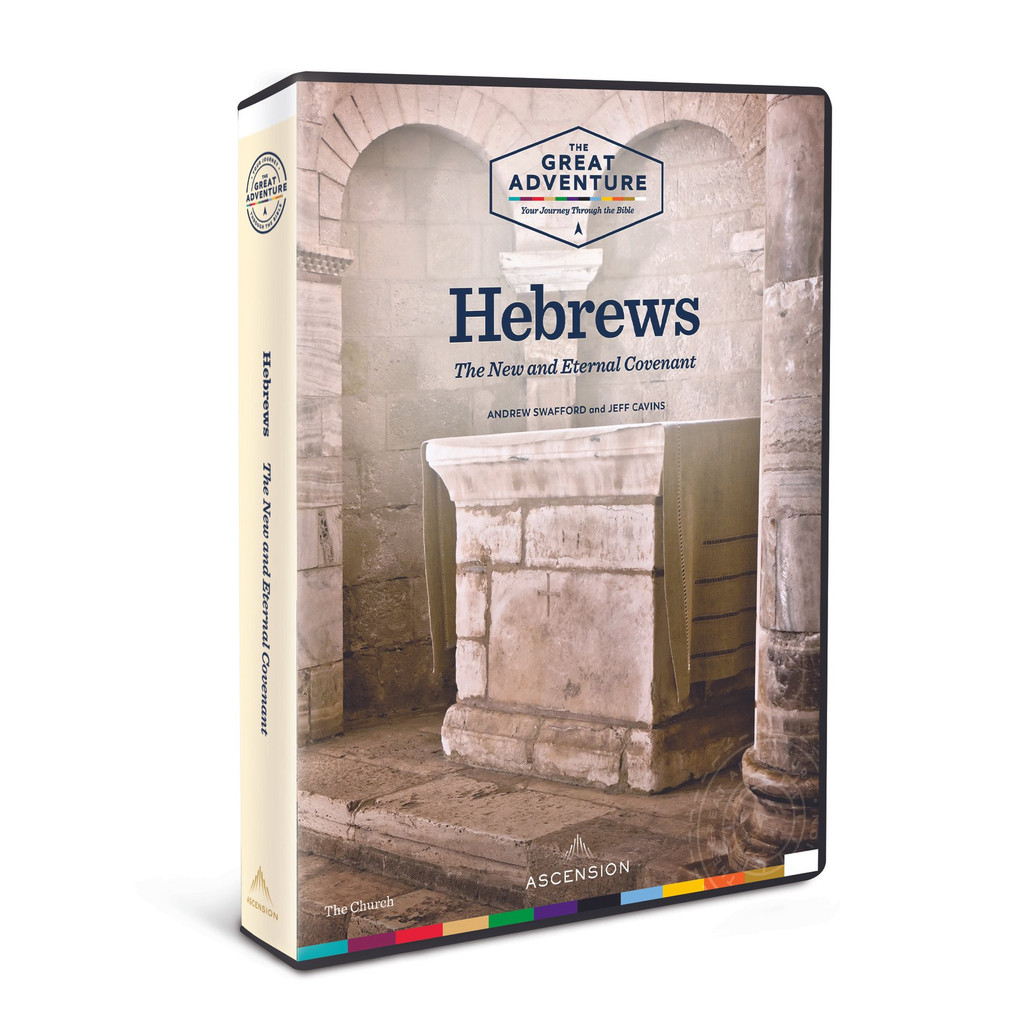 Hebrews: The New and Eternal Covenant -  Andrew Swafford & Jeff Cavins - Ascension Press (4 DVD Set)