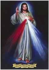 1993 Divine Mercy image by Australian artist Paul Newton