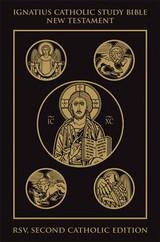 Ignatius Catholic Study Bible New Testament (2nd Ed RSV) - PB (BLK)