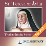 St. Teresa of Avila - Quiet Waters - Lighthouse Talks (CD)