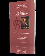 The Gospel of Matthew - Ignatius Catholic Study Bible (Paperback)