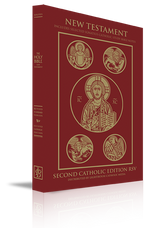 New Testament Bible - Second Catholic Edition RSV - Augustine Institute Edition (RED PB)