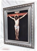 Crucifix - Framed Artwork - Silver