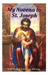 My Novena to St Joseph - Rev Daniel M. Quackenbush, OFM Conv. (Booklet)