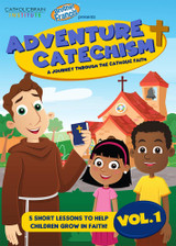 Adventure Catechism: A Journey Through the Catholic Faith - Volume 1 (DVD)