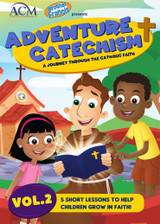 Adventure Catechism: A Journey Through the Catholic Faith - Volume 2 (DVD)