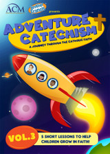 ** Pre-Order** Adventure Catechism: A Journey Through the Catholic Faith - Volume 3 (DVD)
