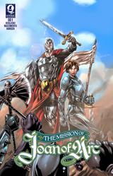 The Mission of Joan of Arc #1 - Kosloski/Nascimento/Hansen - Voyage Comics (Paperback)