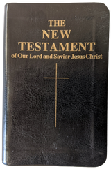 Confraternity Pocket New Testament, New Leatherette Cover! - Scepter