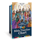 Great Adventure Kids Bible Timeline Chart   Great Adventure Kids Bible Timeline Chart - Emily Cavins and Sarah Christmyer - Ascension