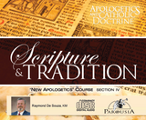 Apologetics and Catholic Doctrine - Set 4: Scripture & Tradition - Raymond de Souza KM (8 CD Set)