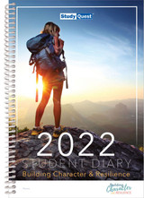 StudyQuest Student Diary, 2022 - Createl Publishing