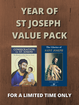 **Year of St Joseph Value Pack** - 'Consecration to St Joseph' + 'The Glories of St Joseph'