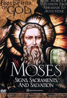 *PRE-ORDER - NEW STOCK AVAILABLE JUNE 2021* Moses: Signs, Sacraments and Salvation (The Footprints of God Series)